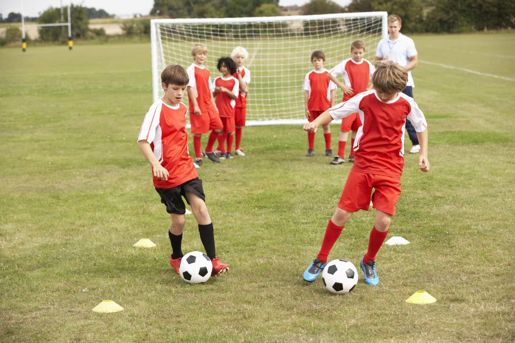 Soccer Ball Dribbling Drills Soccer Ball Control Drills